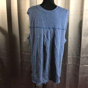 Free People Tops - Free People Sleeveless Sweatshirt